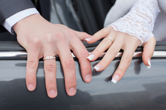 Reliable tailored wedding transportation offered by 2 B Chauffeured.
